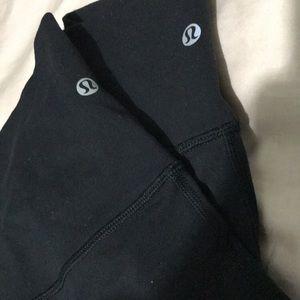 Lulu lemon leggings black wunder unders